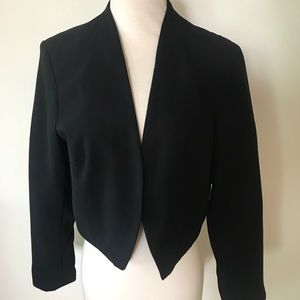 Topshop Bolero Layered Jacket